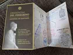 Myra W. verified customer review of Official Camino Passport (Credential)