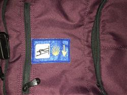 Olga W. verified customer review of 3 logo square Camino Badge