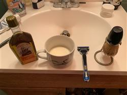 Michael M. verified customer review of Bottle Bay Rum - The Blades Grim 2.5 Shaving Soap