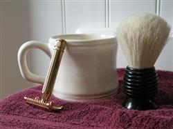 Ron L. verified customer review of Classic Brand Shorty Shaving Mug