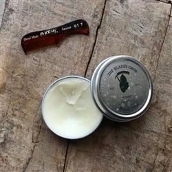 Emma S. verified customer review of The Blades Grim Beard Balm - Cinder Scent