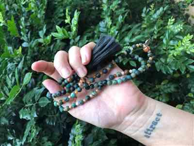 Megan Taylor verified customer review of Freedom Mala Necklace