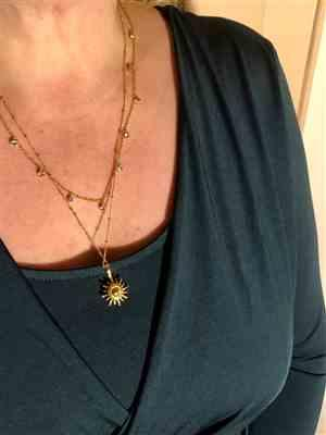 Sylvia Möckel verified customer review of PURELEI 'nani' necklace