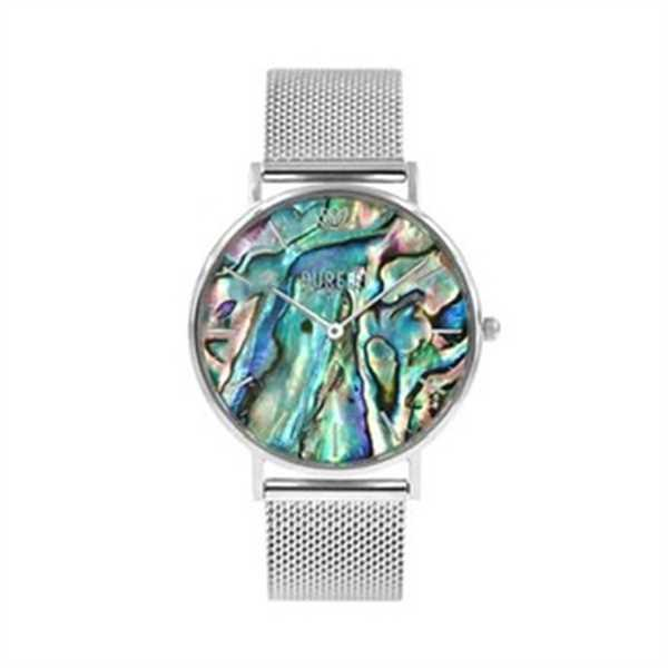 Claudia Schäffler verified customer review of Abalone Silver Mesh