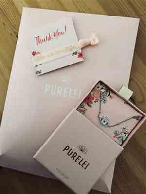 Filiz M. verified customer review of PURELEI 'Syren Eye' necklace
