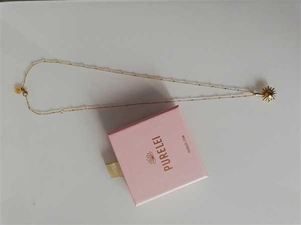 Solveig Neumann verified customer review of PURELEI 'Sun' necklace