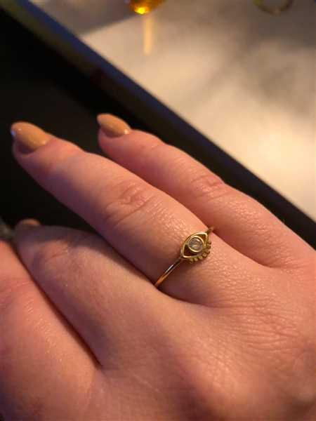 Vanessa Friese verified customer review of PURELEI 'Syren Eye' Ring
