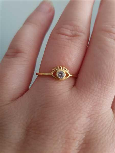 Angelika Kara verified customer review of PURELEI 'Syren Eye' Ring