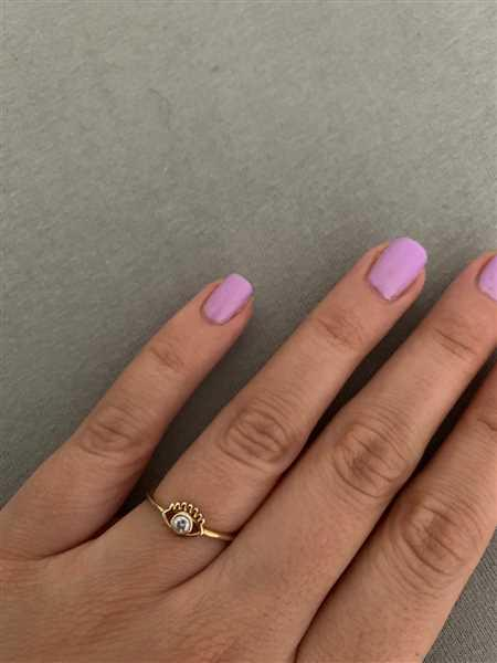 Pia Wienekamp verified customer review of PURELEI 'Syren Eye' Ring