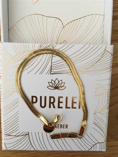 Anonymous verified customer review of PURELEI 'i'lalo' Anklet
