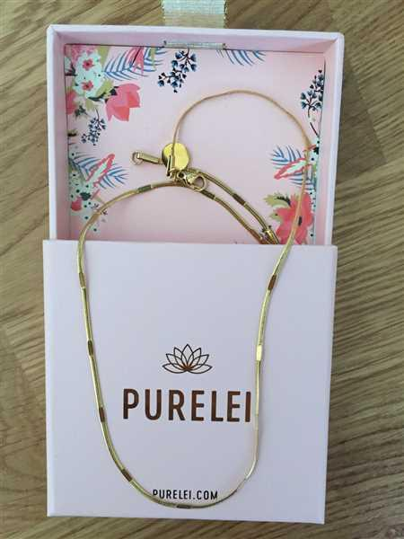 Anonymous verified customer review of PURELEI 'Kanani' Necklace