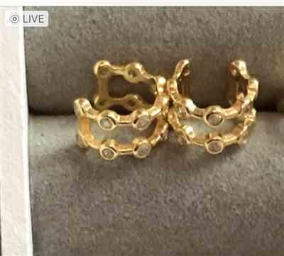 Sabrina Riegelein verified customer review of PURELEI 'Kaimana' Earcuff