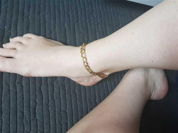 Vanessa Schäfer verified customer review of PURELEI 'Akela' Anklet