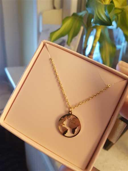 Anonymous verified customer review of PURELEI 'Worldmap' necklace