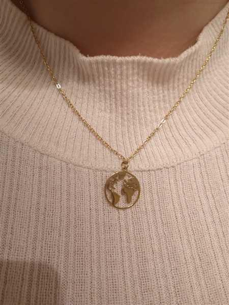 Vanessa Fonfara verified customer review of PURELEI 'Worldmap' necklace