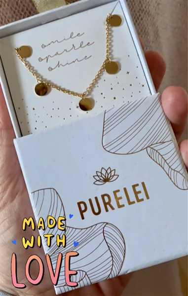 Birgit King verified customer review of PURELEI 'Kalea' Necklace