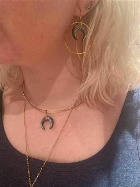 Laura Wolf verified customer review of PURELEI 'Paua' necklace