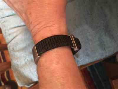 Kathleen Long verified customer review of Nylon Loop Band 19mm Graphite