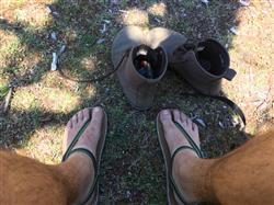 Peter H. verified customer review of Earthing Shoe DIY Kit