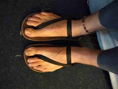 Tobias Hoendervangers verified customer review of Alpha Sandals
