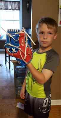 Teresa K. verified customer review of Custom Fielders Baseball Glove