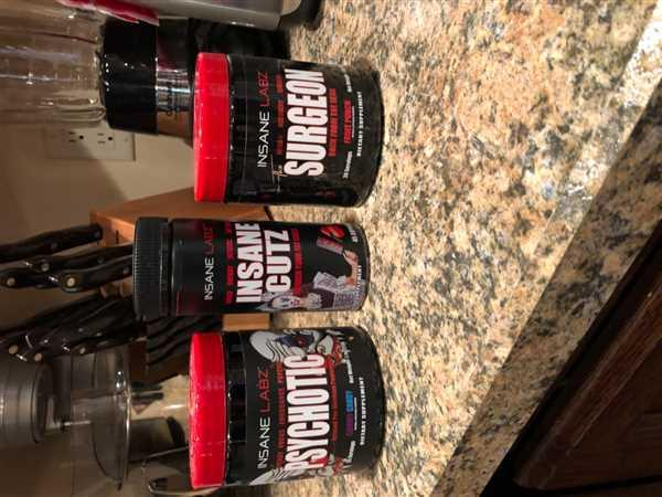 Robert Rose verified customer review of INSANE LABZ Psychotic 35 Servings