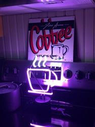 JEFFREY C. verified customer review of Coffee Neon Desk Light
