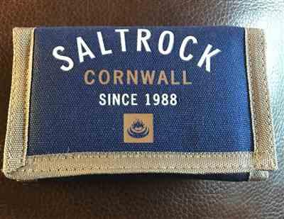 Rob D. verified customer review of Saltrock - Cornwall - Wallet  - Blue