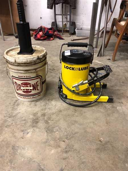 LOCKNLUBE G.Gun Grease Gun - 10,000 PSI Foot Operated Review