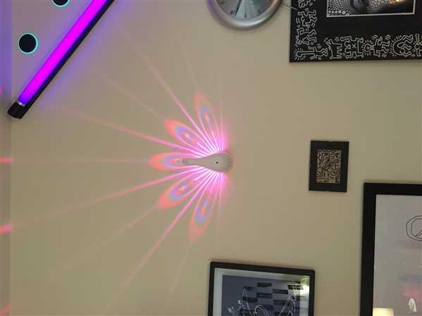 Next Deal Shop LED Peacock Projection Light Review