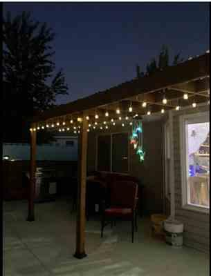 Mimi verified customer review of Solar-Powered Dangling Hummingbird Lights