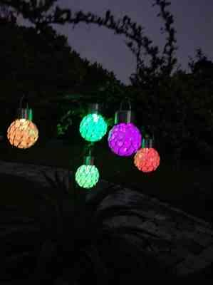Abraham G. verified customer review of Solar-Powered Multi-Color LED Crystal Ball