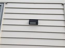 Russell N. verified customer review of SUPER Solar-Powered Motion Sensor Light - Super Bright, No Wiring Needed, Easy Installations.