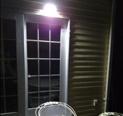 Edward Johnston verified customer review of SUPER Solar-Powered Motion Sensor Light - Super Bright, No Wiring Needed, Easy Installations.