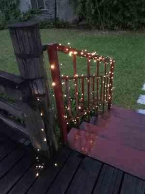 Cherie C. verified customer review of Solar-Powered LED Fairy Lights