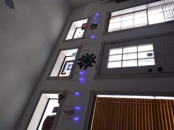 Shana Skeans verified customer review of Snow Fall LED Lights Set (Extension plug included)
