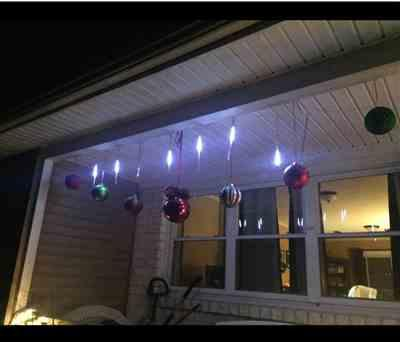 Gloria P. verified customer review of Snow Fall LED Lights Set (Extension plug included)
