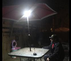 Steven Bailey verified customer review of Super Bright Patio LED Umbrella Light - A Must Have for Outdoor Activities!
