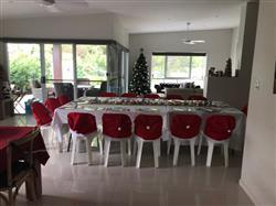 Anonymous verified customer review of 4 Pcs Festive Chair Cover Set - Add a Festive Touch to Your Dining Table!