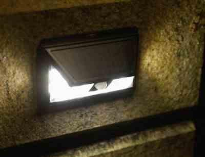 Andrea M. verified customer review of Wide Angle Solar-Powered Motion Sensor Security Light