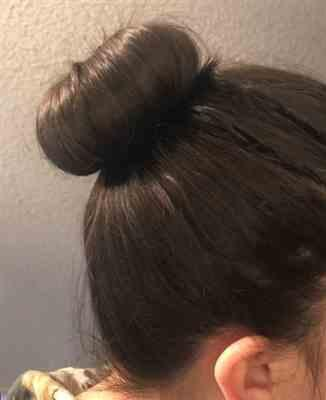 Michelle B verified customer review of 2 Pcs Easy Hair Bun Maker