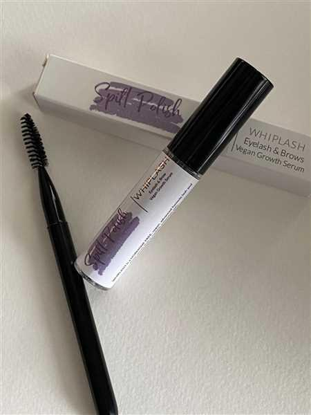 ARCHITECTS & FAIRIES WHIPLASH Lash Growth Serum (10 tubes with or without logo) Review