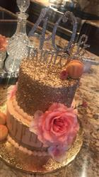 Anonymous verified customer review of 40 & Fabulous Cake Topper - Gold
