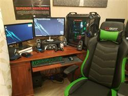 Marvin P. verified customer review of Grandmaster - Light Blue PC Gaming Chair