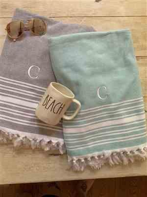 Chrissy C. verified customer review of Imani Turkish Peshtemal Oversized Towel