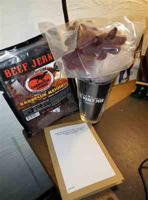 Bani D. verified customer review of Barbecue Mesquite Beef Jerky