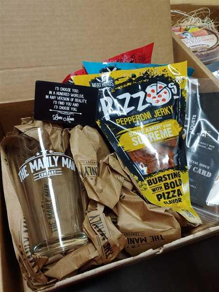Anonymous verified customer review of Pizza & Beer Gift Box