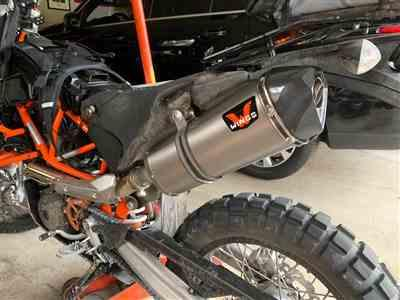 Jerry W. verified customer review of Wings Slip-on Exhaust KTM 690 Enduro/SMC