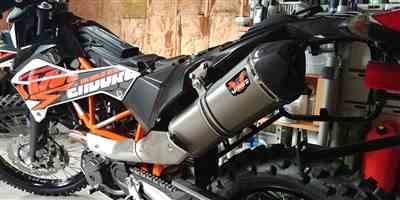 Benjamin Eedy verified customer review of Wings Slip-on Exhaust KTM 690 Enduro/SMC