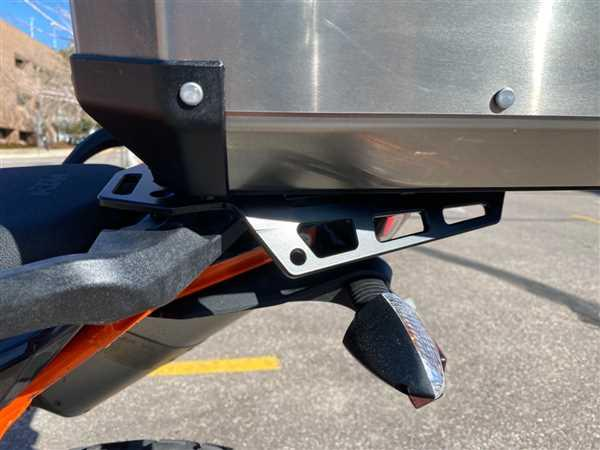 Eric Schneider verified customer review of Perun Moto Luggage Rack KTM 790/1090/1190/1290 Adventures 2013-2019